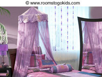 Decorative Bed Canopies for little girls' bedrooms