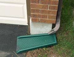 Driveway Water Diverter
