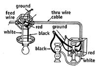 2 Single Pole Switches Diagram in addition 3 Way Switch Wiring Diagram With 2 Lights together with How To Wire An Outlet And Light Switch Together in addition How To Install Light Switch additionally 249748. on how to add gfci a box with one