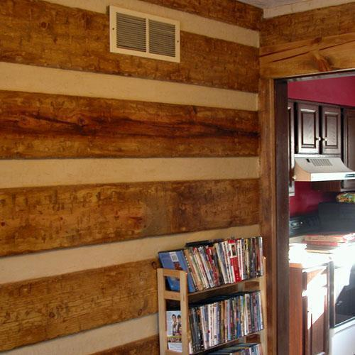 Fake Log Cabin Doityourself Com