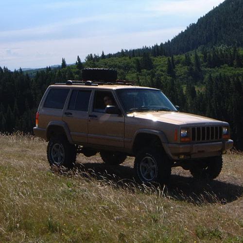 Jeep Cherokee XJ Build