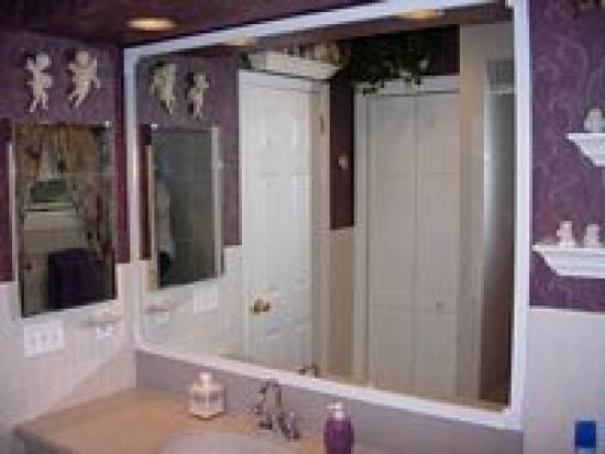 bathroom mirror made beautiful