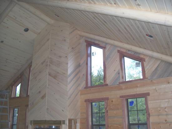 Log Home Interior Finish Doityourself Com