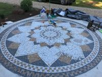 Patio mosaic
